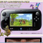 Wii U版「ドラクエ10」の画面写真が公開!