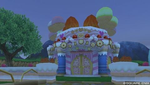 大きなお菓子の家のパーツ素材