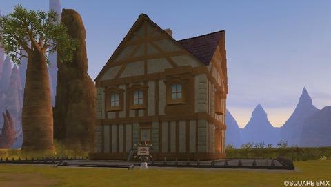 大きな四角い家(内部画像あり)Mサイズの家