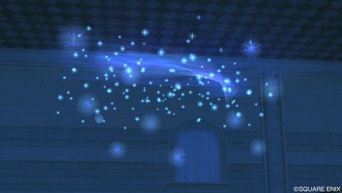 星雲のモビール青