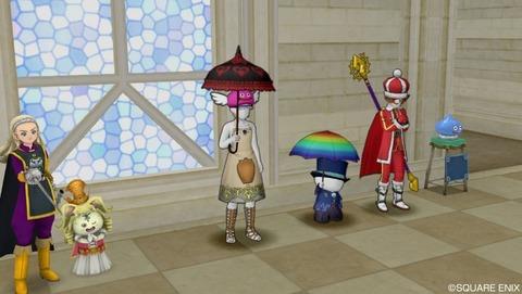 フワフワな傘4